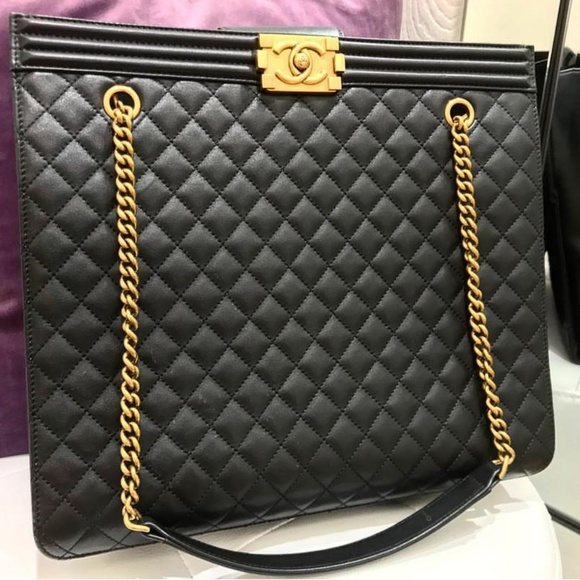 f6d370fa0c67 CHANEL Bags | Leboy Tote 100 Authentic | Poshmark